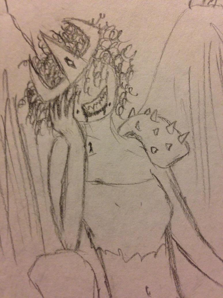 My Girlfriend, Satan by CLOUDdude114