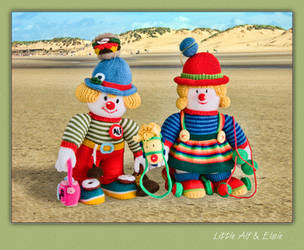 Little Alf and Elsie by Roy3D