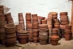 Clay Pots Stock