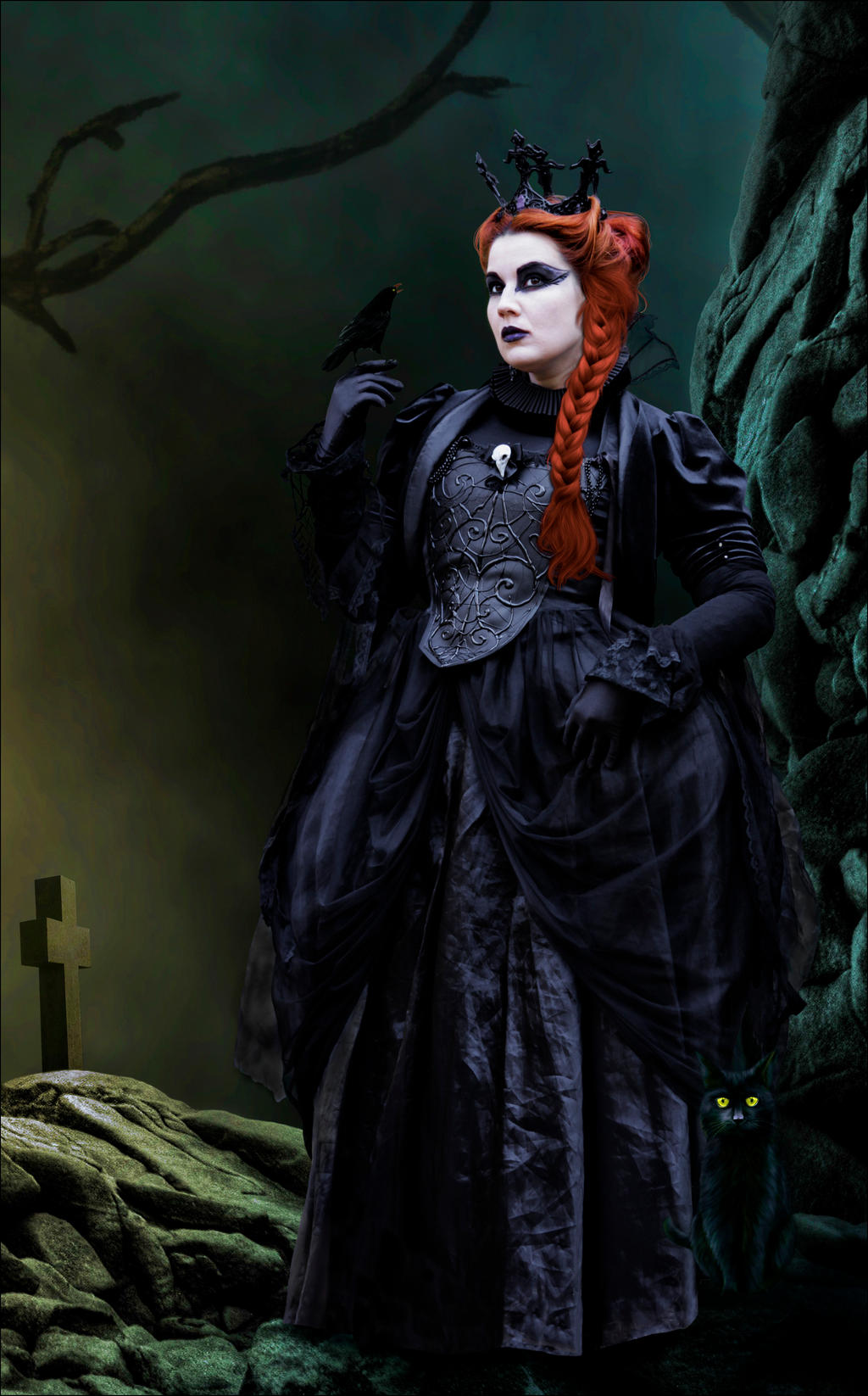 The Evil Gothic Queen by Roys-Art on DeviantArt