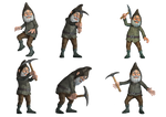 Gnomes PNG Stock