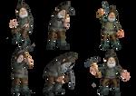Gnomes PNG Stock
