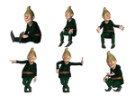 Gnomes 2 PNG Stock