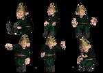 Gnomes 2 PNG Stock