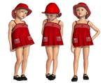 Red Dress PNG Stock