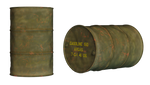 Oil Drum PNG Stock