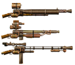 Steam Rifles PNG Stock