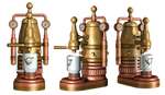 Steampunk Coffee Pot PNG Stock