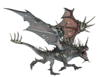 Dragon 08 PNG Stock