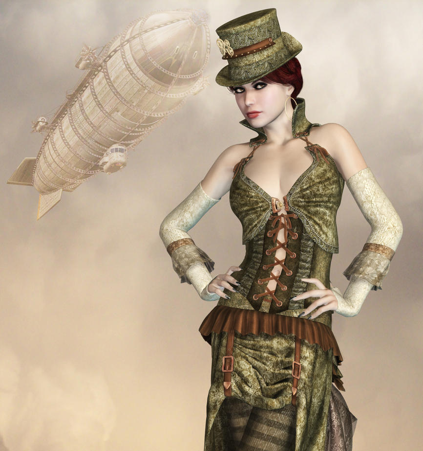 Steampunk Fashion Steampunk Fashion by Roys Art