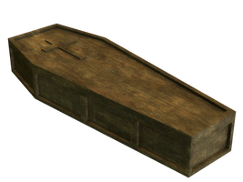 Coffin PNG Stock by Roy3D