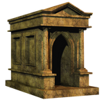 Crypt PNG Stock