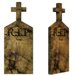 Grave 3 PNG Stock