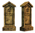 Grave 6 PNG Stock
