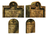 Grave 8 PNG Stock