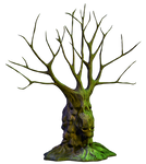 Spooky Tree 04 PNG Stock
