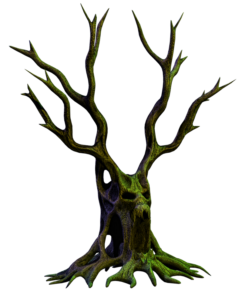 spooky tree 06 png stock by roy3d on deviantart