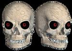 Skull 01 PNG Stock