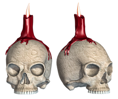 Skull 02 PNG Stock by Roy3D