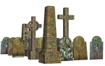 Graves 14 PNG Stock