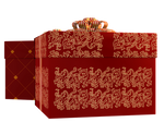 Christmas Gift Boxes 02 PNG Stock