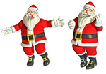 Christmas Santa PNG Stock