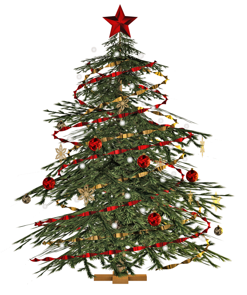 Christmas Tree PNG Stock By Roy3D On DeviantArt