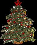 Christmas Tree PNG Stock