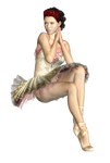 Female 20 PNG Stock