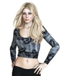 Female 35 PNG Stock