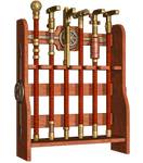 Steampuunk Cane Rack PNG Stock