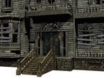 Haunted House 02 PNG Stock