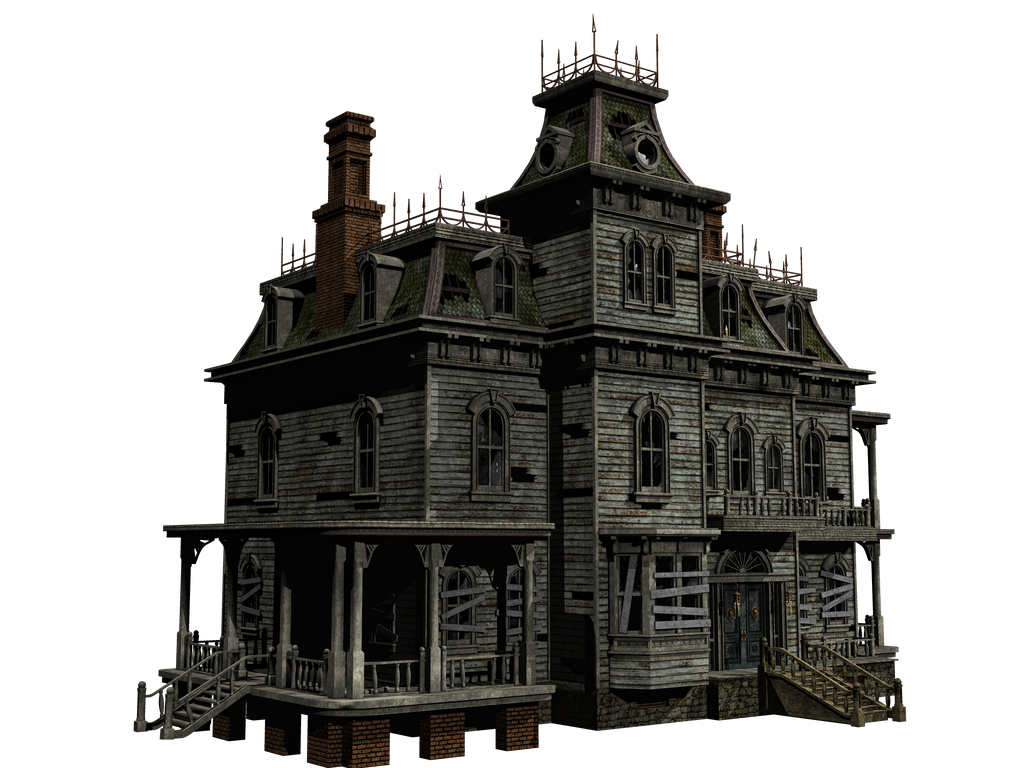 Haunted House 05 Png Stock By Roy3d On Deviantart