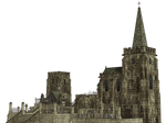 Gothic Church PNG Stock