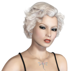 Female 48 PNG Stock by Roy3D