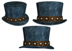 Hat Collection 07 PNG Stock by Roy3D
