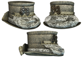 Hat Collection 10 PNG Stock by Roy3D