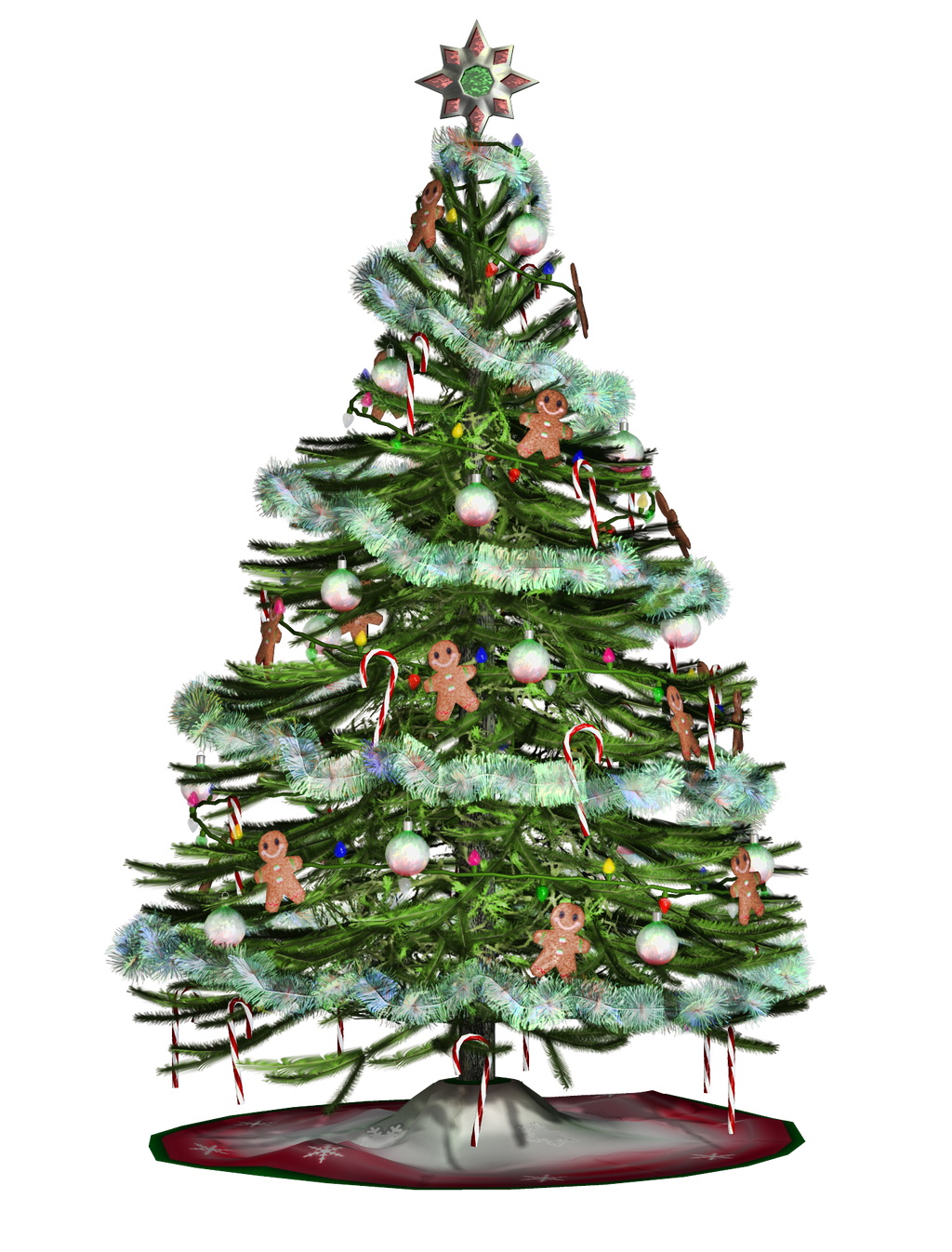 Christmas tree png stock by roy d on deviantart
