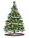 Christmas Tree 2 PNG Stock