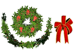 Christmas Holly 02 PNG Stock