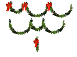 Christmas Holly 03 PNG Stock