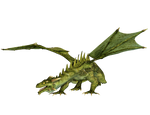 Dragon 13 PNG Stock
