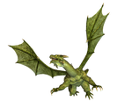 Dragon 16 PNG Stock