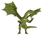 Dragon 17 PNG Stock