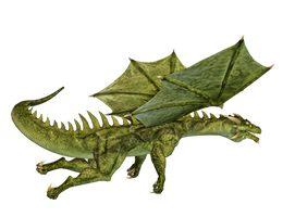 Dragon 18 PNG Stock by Roy3D
