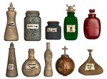 Spooky Potions PNG Stock
