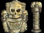 Spooky Skulls PNG Stock 04