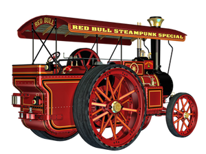 Steam Engine 01 PNG Stock by Roy3D