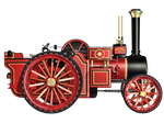 Steam Engine 03 PNG Stock