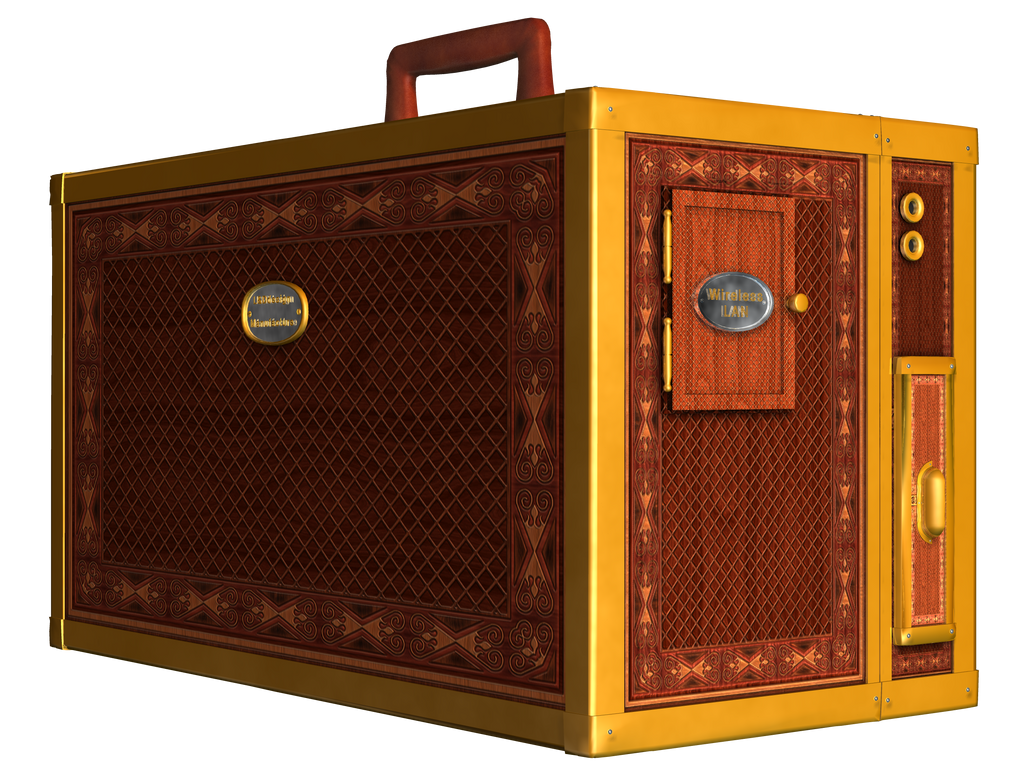 Steampunk Box PNG Stock